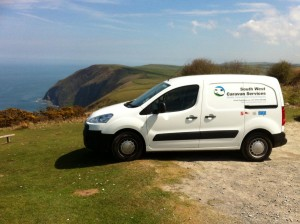 caravan servicing on exmoor