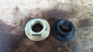 Stub Axle Nuts