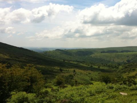 Servicing on Dartmoor