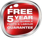Powrtouch 5 year guarantee